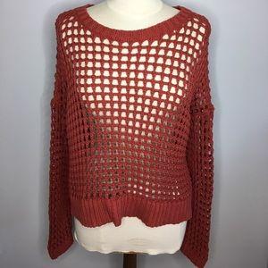 Crochet sweater from express